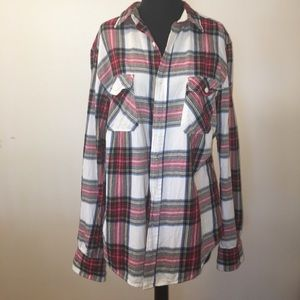 Men's Arizona Plaid Shirt Size Medium